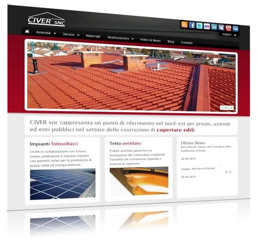 Civer snc costruzione coperture edili tetti for Civer coperture